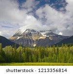 mount robson  mount robson...   Shutterstock . vector #1213356814