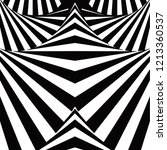 spiral optical illusion. black... | Shutterstock . vector #1213360537