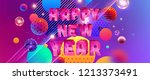 2019 Happy New Year Trendy...