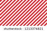 Diagonal Stripe.red And White...