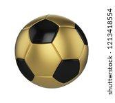 Soccer Ball Realistic 3d Raste...