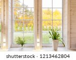 bright interior of the room in... | Shutterstock . vector #1213462804