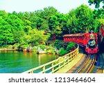 tokyo disneyland japan | Shutterstock . vector #1213464604