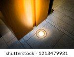 ground light bury on the ground ... | Shutterstock . vector #1213479931