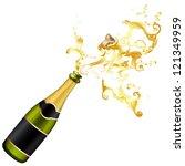 illustration of explosion of...   Shutterstock .eps vector #121349959