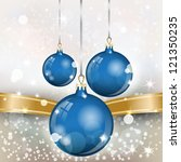 new year theme. card with new... | Shutterstock .eps vector #121350235