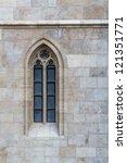 Church Window Of The Matthias...