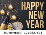 happy new year background... | Shutterstock .eps vector #1213527691