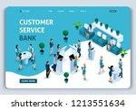 website template landing page... | Shutterstock .eps vector #1213551634