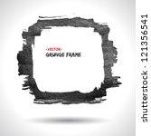 Grunge Vector Frame. Grunge...