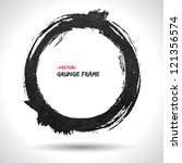 grunge vector frame. grunge...   Shutterstock .eps vector #121356574