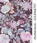 elegant flowers  elegant... | Shutterstock . vector #1213566757