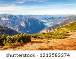 scenic view of austrian alps... | Shutterstock . vector #1213583374
