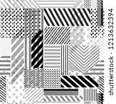 monotone white and grey ... | Shutterstock .eps vector #1213632394