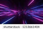 abstract bright creative cosmic ... | Shutterstock . vector #1213661404