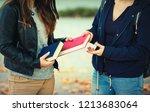 close up outdoors portrait of... | Shutterstock . vector #1213683064