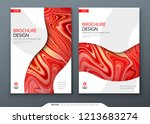 brochure template layout design.... | Shutterstock .eps vector #1213683274