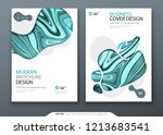 brochure template layout design.... | Shutterstock .eps vector #1213683541