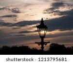 Knaresborough Lamp At Sunset