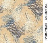 various strokes. seamless... | Shutterstock .eps vector #1213806151