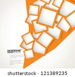 design template   eps10... | Shutterstock .eps vector #121389235