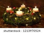 Advent Christmas Wreath Candles ...