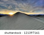 Sunset Dunes - stock photo