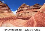 Coyote Buttes Red Rock Formation - stock photo
