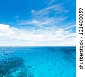 Sea And Sky. Tropical Quad...