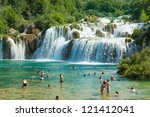 Krka  Croatia   July 28  2012 ...