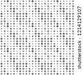 abstract seamless pattern... | Shutterstock . vector #1214129107