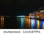 night port view from nusamai...   Shutterstock . vector #1214187991
