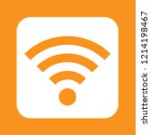 wifi icon  stock vector... | Shutterstock .eps vector #1214198467