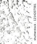 distressed overlay texture of... | Shutterstock .eps vector #1214207581