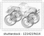 Monster Truck  Blueprint