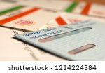maski karnataka india   9 27...   Shutterstock . vector #1214224384