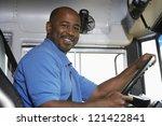 portrait of an african american ... | Shutterstock . vector #121422841