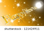 year 2013 written with colored... | Shutterstock . vector #121424911