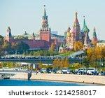 moscow  russia   october 13 ... | Shutterstock . vector #1214258017