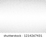 abstract halftone wave dotted...   Shutterstock .eps vector #1214267431