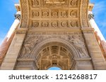 corinthian style paris... | Shutterstock . vector #1214268817