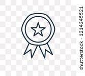 ranking vector outline icon...   Shutterstock .eps vector #1214345521