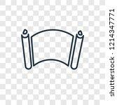 manuscript concept vector...   Shutterstock .eps vector #1214347771