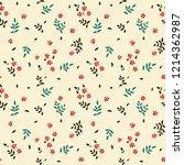 seamless vector colorful modern ...   Shutterstock .eps vector #1214362987