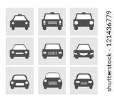 car icons set | Shutterstock .eps vector #121436779