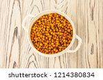 sea buckthorn autumn harvest | Shutterstock . vector #1214380834