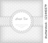 background with frame. vector... | Shutterstock .eps vector #121440379