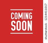 coming soon vector mystery... | Shutterstock .eps vector #1214411017