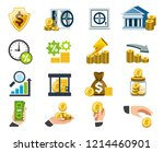 benefit and situation of... | Shutterstock .eps vector #1214460901