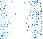 confetti of two colored rhombs... | Shutterstock .eps vector #1214465707